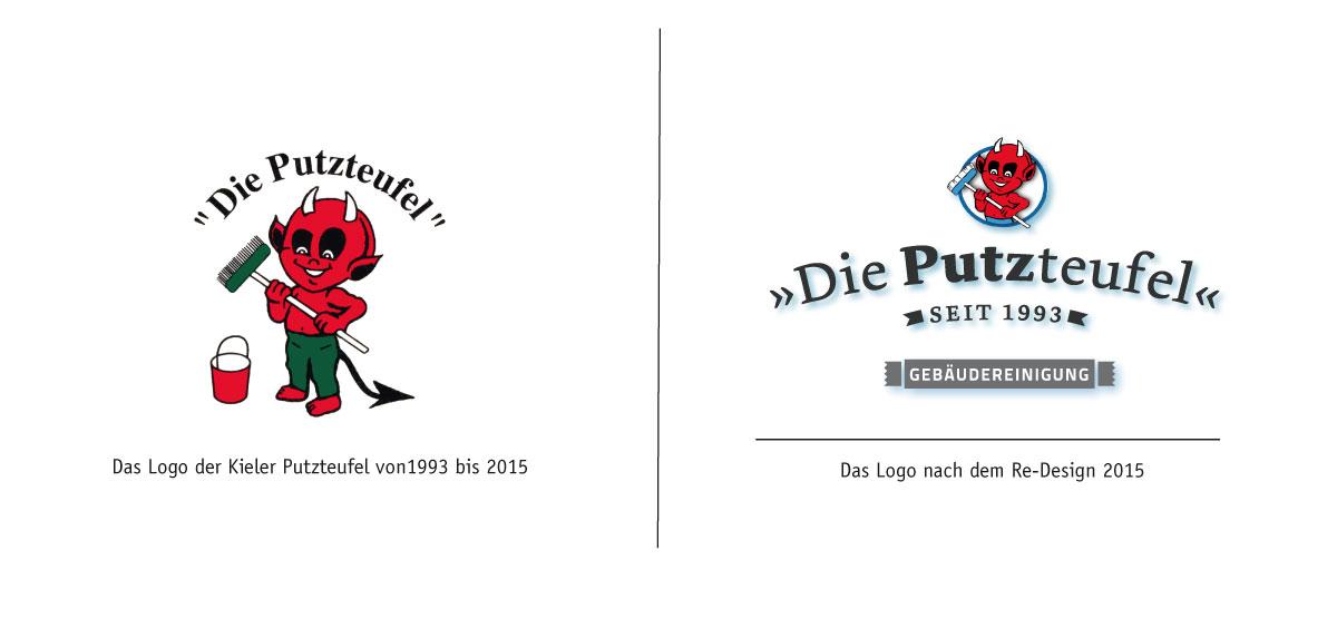 Kieler Putzteufel-Re Design-Logo