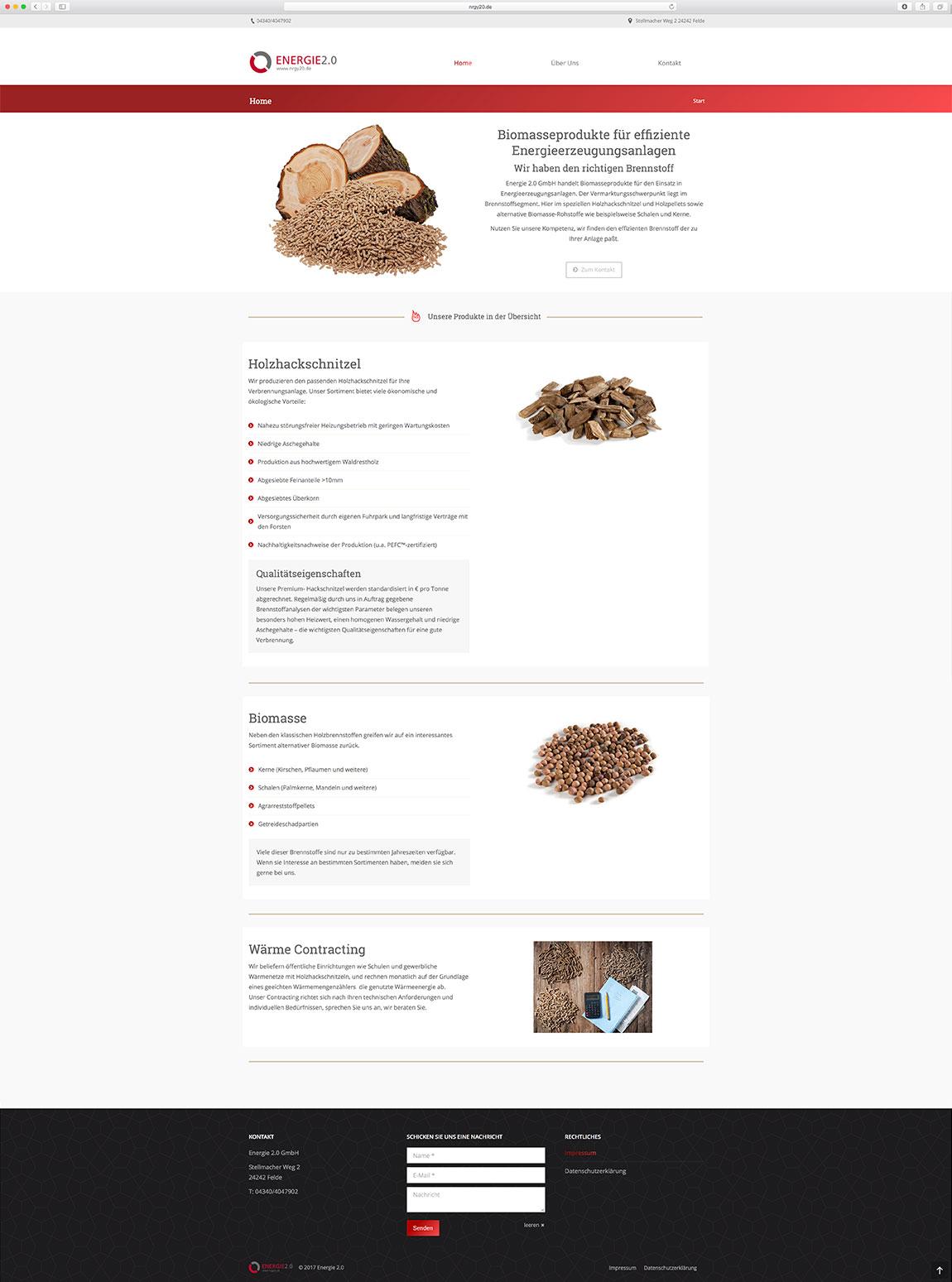 Energy20-Homepage