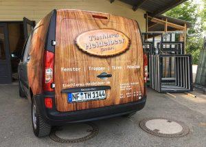 Tischlerei-Heidelbeer-4-Fahrzeugbeschriftung