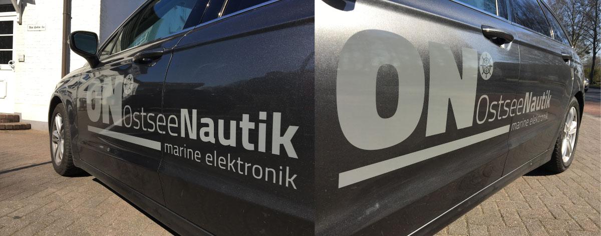 Fahrzeugbeschriftung-Ostsee Nautik