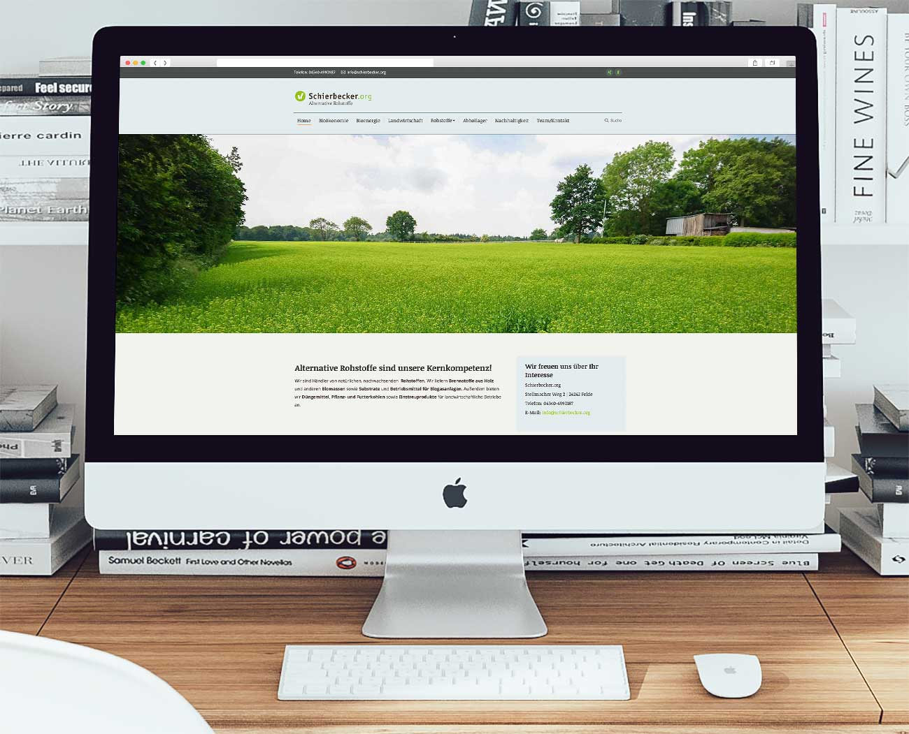 Schierbecker-Website-Workspace-IMac