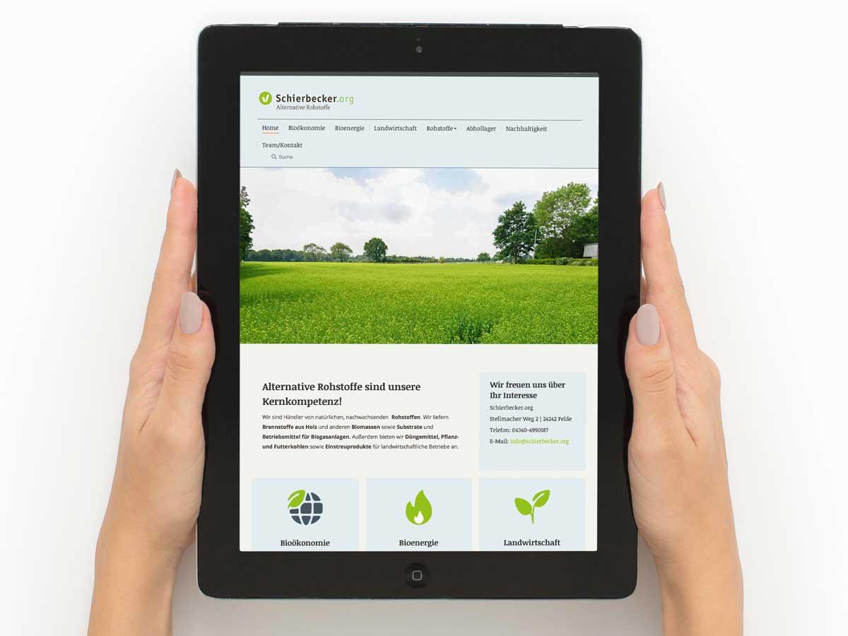 Schierbecker-Website-iPad